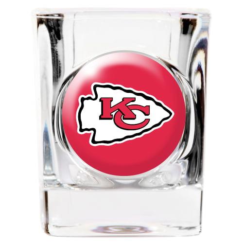 Kansas City Chiefs Square Shot Glass - 2 oz.