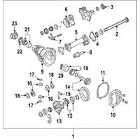 Genuine OE GM Axle Seals 15286593