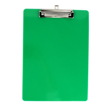 Unique Bargains Office School Plastic A4 Paper File Note Writing Holder Clamp Clip Board Green](Santa Beards For Sale)