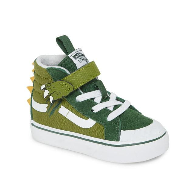 Vans SK8-HI Boys/Child Shoe Size Toddler 8 Athletics VN0A4TZLWIX ((Dino) Calla Green/Greener)