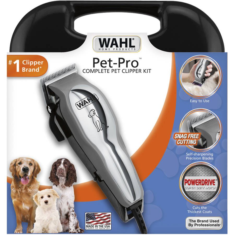 Wahl Deluxe Chrome Pro Home Haircutting Kit Model 79524