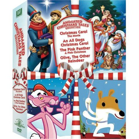 Animated Christmas Tales Collection  Christmas Carol  The Movie   An All Dogs Christmas Carol   Pink Panther  A Pink Christmas   Olive  The Other Reindeer