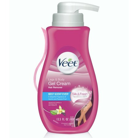 2 Pack - Veet Gel Hair Removal Cream, for Legs & Body, 13.5