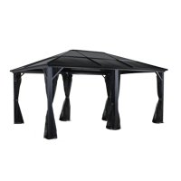 Meridien #77 Gazebo 12'X16' Pc 8Mm Roof