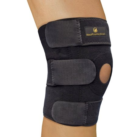 NeoProMedical Knee Support - Neoprene Breathable Knee Brace ? Large Size, Black Color](Cute Braces Colors)