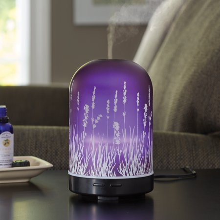 Better homes gardens 3 piece ultrasonic aroma diffuser oils gift set lavender fields Better homes and gardens diffuser