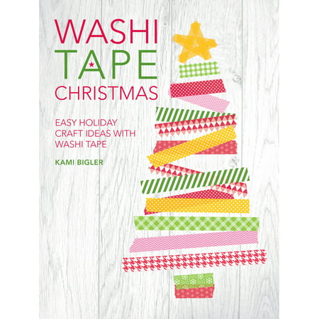 Washi Tape Christmas : Easy Holiday Craft Ideas with Washi - Easy Halloween Craft Ideas