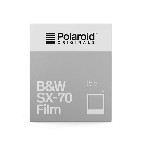 Polaroid Originals B AND W Film for SX-70