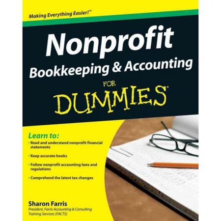 Nonprofit Bookkeeping   Accounting For Dummies