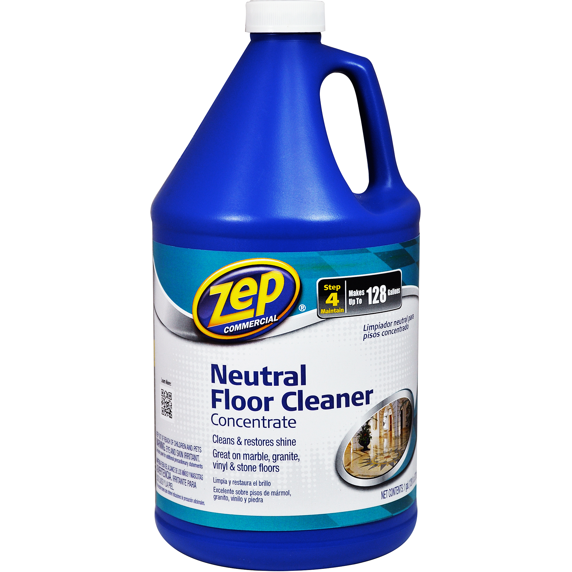 Zep Commercial Neutral Floor Cleaner Concentrate, 1 gal