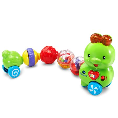 Connect A Pillar  Snap The Colorful Segments Together In A Variety Of Ways To Create An Interactive Caterpillar  Connecting The Segments To The Head Trigger Playful Responses     By Vtech Ship From Us