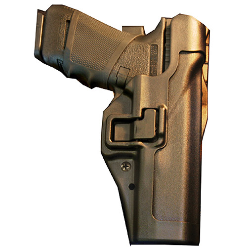 BlackHawk Level 2 Duty SERPA Belt Holster fits Glock 17 19 22 23 31 32, Right Hand, Black by Generic
