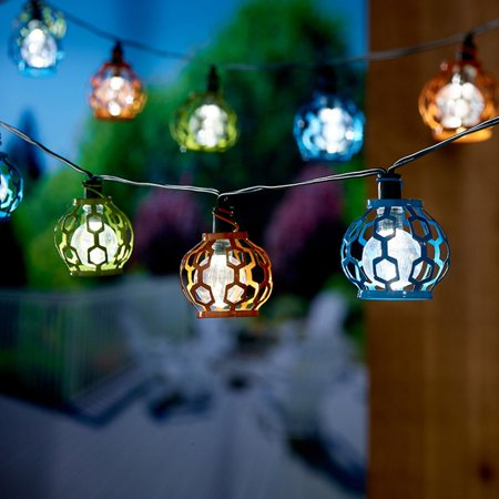 Solar String Light - Gala (Asst) 20 - Plumeria String Lights