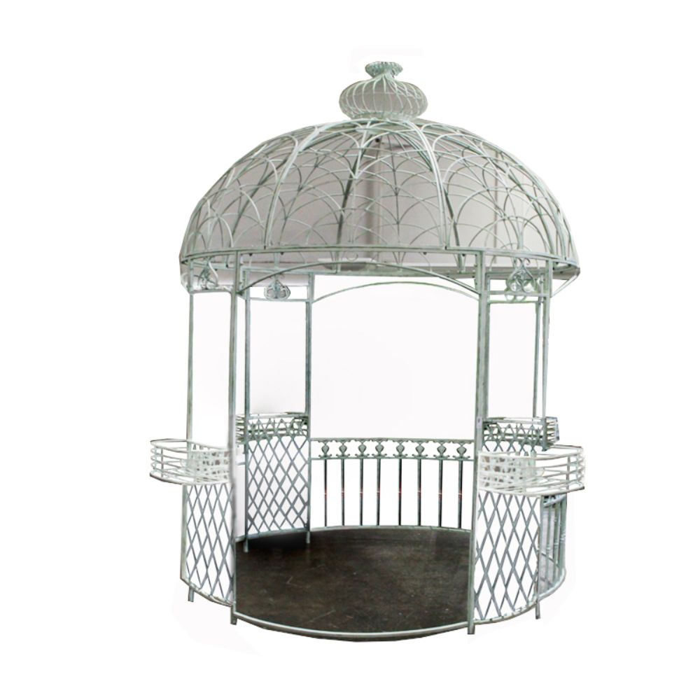 Useful Metal Gazebo Benzara Walmartcom