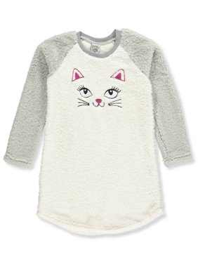 Sweet n Sassy Girls' Plush Nightgown