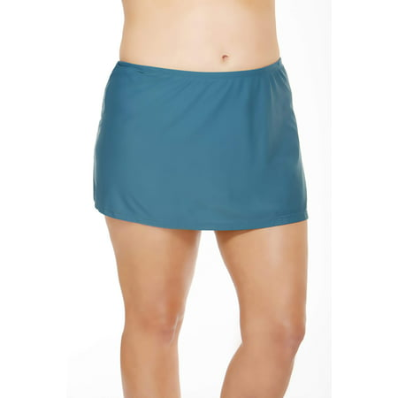 (Women's Plus-Size Skirted Swimsuit Bottom)