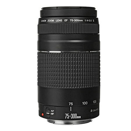 Canon EF 75-300mm f/4-5.6 III Lens (Best 75 300 Lens For Canon)