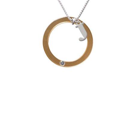 Acrylic Amber Necklace (Acrylic 1 1/2