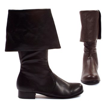 121-Hook Mens Pirate Boots ()