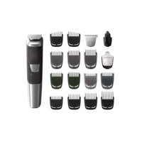 Philips Norelco Multigroom Trimmer with 18 Attachments (Black/Silver)