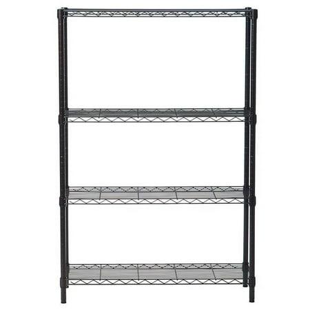 Ktaxon 4 Layer Wire Shelving Rack Metal Shelf Adjustable Unit Garage Storage