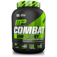 Musclepharm Combat 100% Whey Protein Powder, Chocolate, 25g Protein, 5 Lb