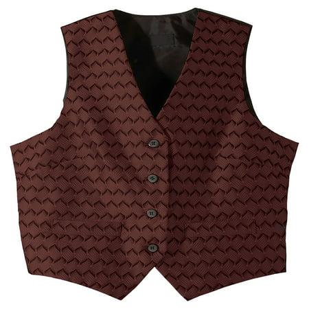 Edwards Garment Women's V-neck Brocade Pattern Vest, Style 7391](Brocade Clothes)