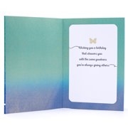Hallmark Mahogany Birthday Card To Mother Butterfly Image 2 Of 6