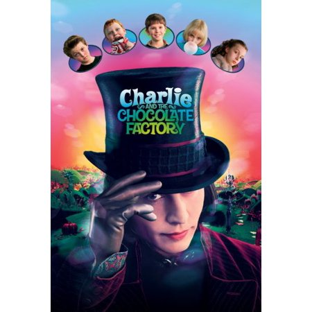 Charlie And Chocolate Factory Costume (Charlie And The Chocolate Factory Movie 11x17 Poster Johnny)