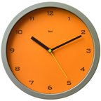 Aluminum Wall Clock With Large Bold Numbers Walmart Com