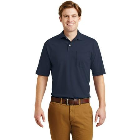 SpotShield 56Ounce Jersey Knit Sport Shirt with Pocket