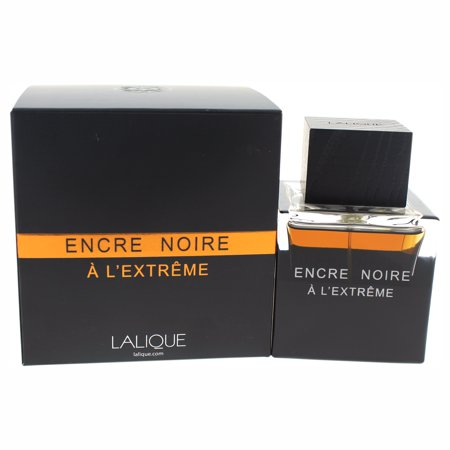 Encre Noire A LEtreme by Lalique for Men - 3.3 oz EDT Spray