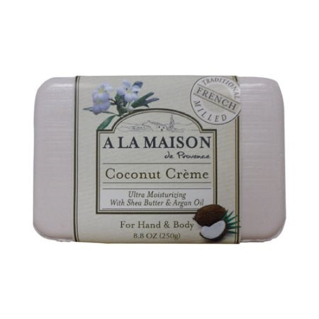 A la maison bar soap coconut cr me 8 8 oz for A la maison soap review