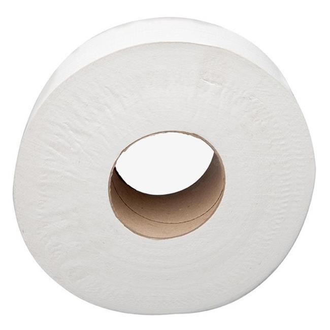 Sofidel America 410045 CPC 12 in. 2- Ply Jumbo Toilet Tissue, White - Case of 6