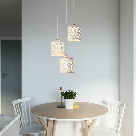 3 Lights Modern Petal Ceiling Light Led Pendant Lamp Dining Room Chandelier Decorative Household Lamp 110 220v Walmart Canada