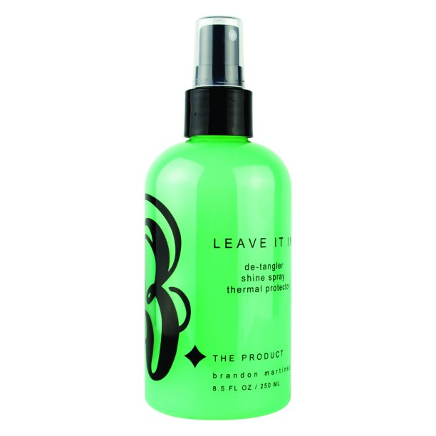 Anti-Frizz Detangler, Leave-In Conditioner For Dry And Damaged Hair, Leave-In Detangler, Thermal Spray With Incredible Shine-B. The Product Leave It In 8oz.
