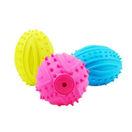Pet Dog Toy Molar Stick Barbed Tpr Leaker Bite-Resistant Toy Teeth Ball - image 3 de 7