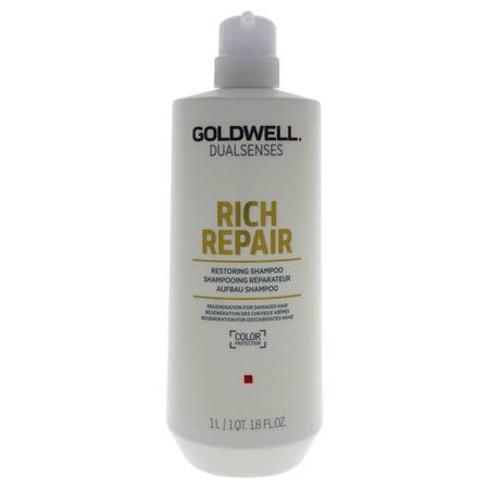 Goldwell Dualsenses Rich Repair Shampoo - 34 oz Shampoo Goldwell Thick Shampoo