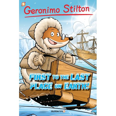 Geronimo Stilton Graphic Novels 4 Following The Trail Of Marco