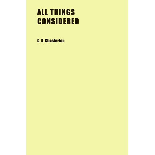 All Things Considered