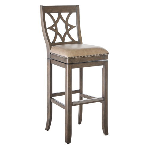 Belham Living Oliver Square Seat Swivel Extra Tall Bar