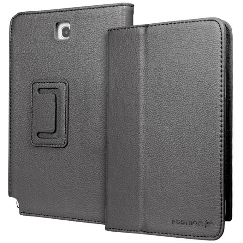 Fosmon OPUS Series Leather Folio Stand Case for Samsung Galaxy Note 8.0 / N5100 - Black
