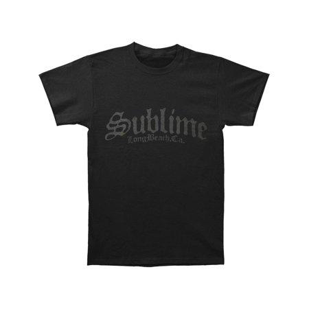811dd97e7 Sublime - Sublime Men's Stamp Logo T-shirt Black - Walmart.com