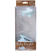 Mighty Bright LED Baby Bright Nursery Light-Blue Airplane