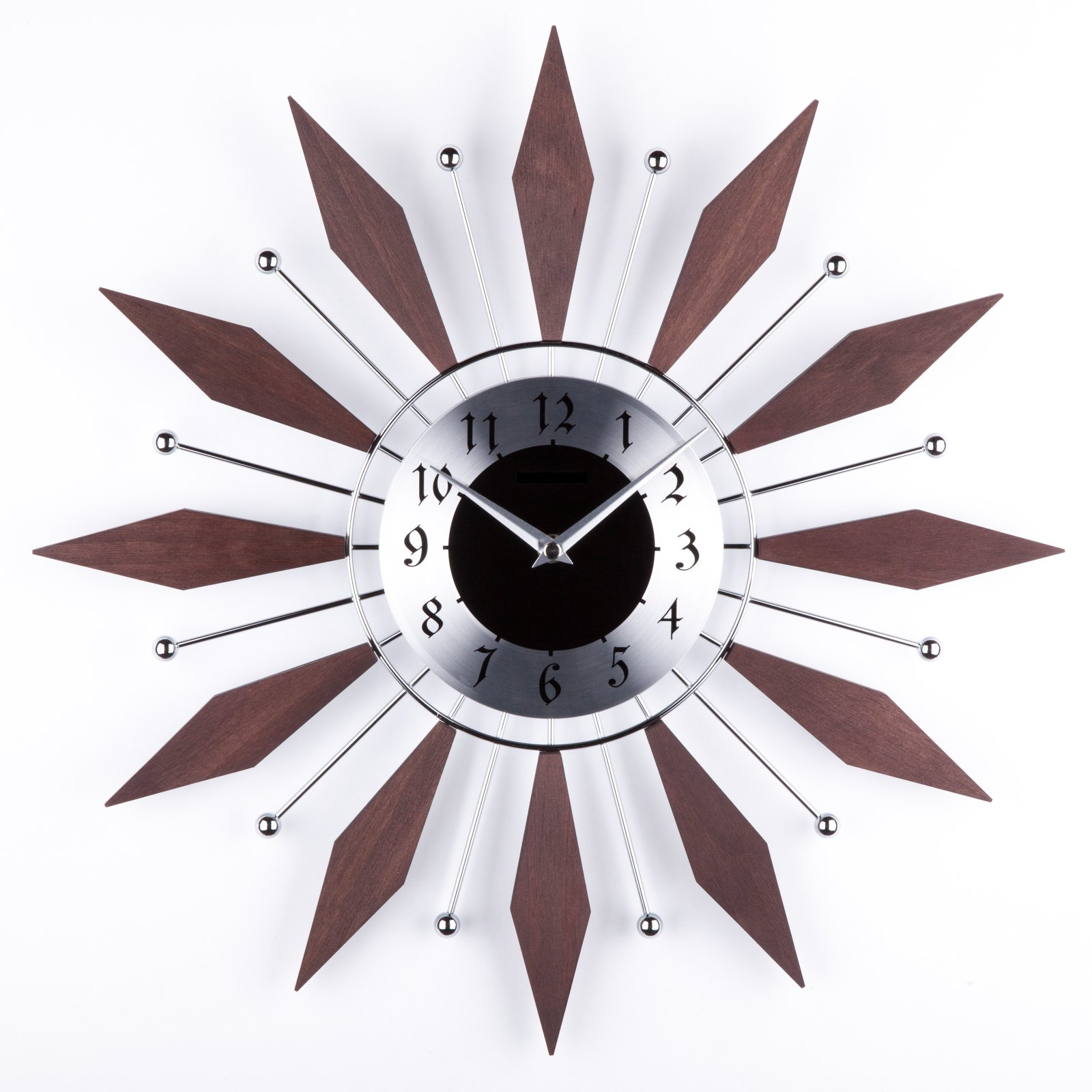 George Nelson The Harper Mid Century 20 in. Wall Clock