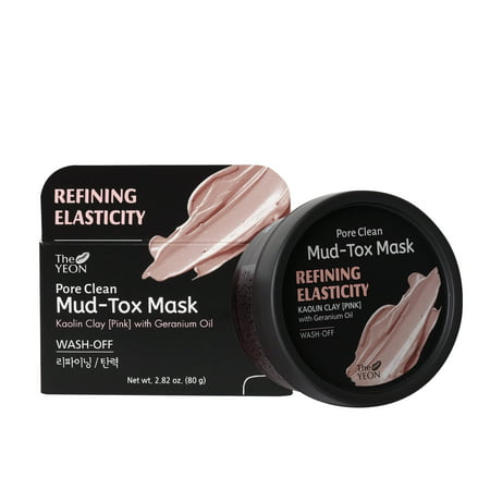 The Yeon Refining Elasticity Pore Clean Pink Mud Tox Mask 2.82