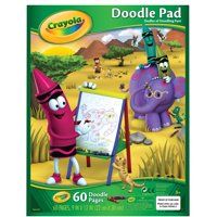 Crayola Doodle Pad, 9x12 In, 60 Sheets