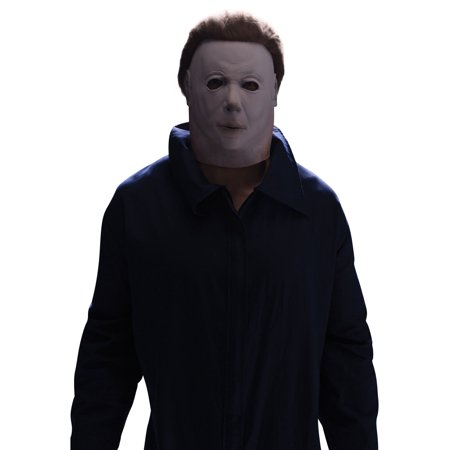 Michael Myers Character Mask with Hair](Michael Myers Halloween 8 Mask)