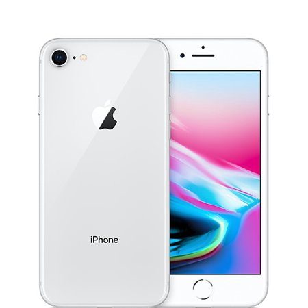 apple iphone 8 64gb silver refurbished