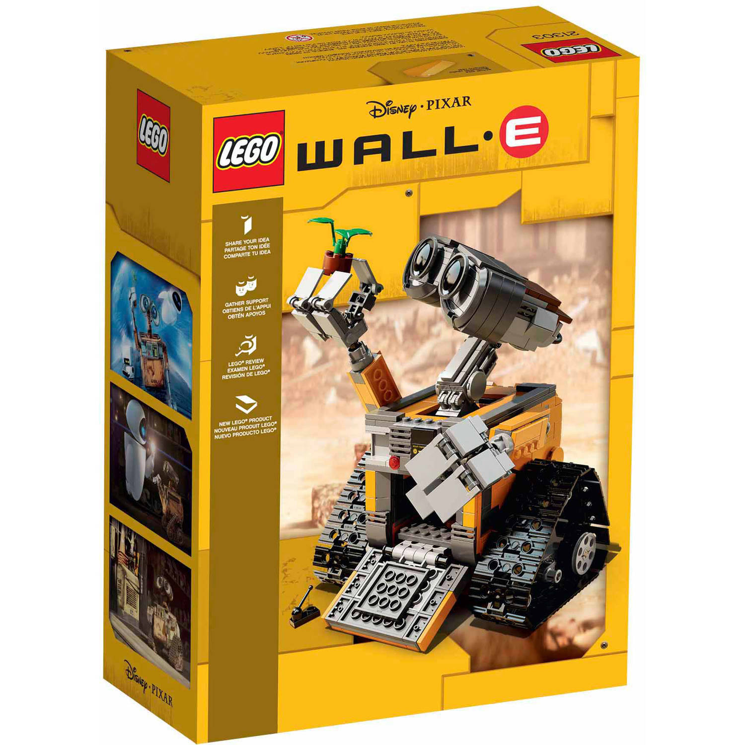 lego ideas wall-e - walmart